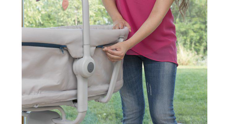 CHICCO Postielka/lehátko/stolička Baby Hug 4v1 - Glacial - 4