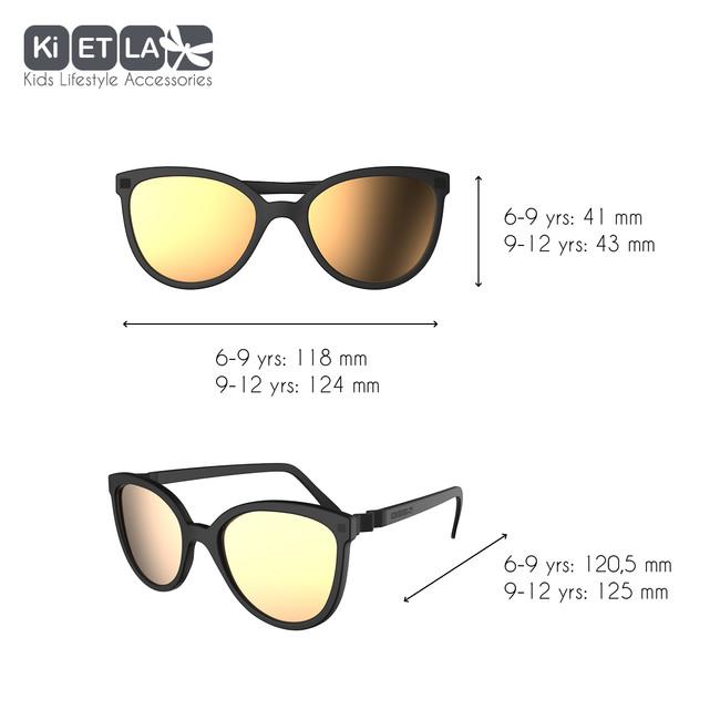KIETLA CraZyg-Zag slnečné okuliare 9-12 r. - mačacie čierne zrkadlovky d485e9138b9