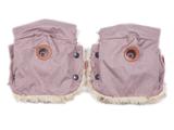 EASYGROW Rukavice na kočík BASIC, Pink Melange