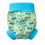 Detské plavky SPLASH ABOUT Happy Nappy - Chameleón