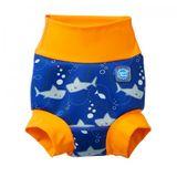 Detské plavky SPLASH ABOUT Happy Nappy - Žraloky
