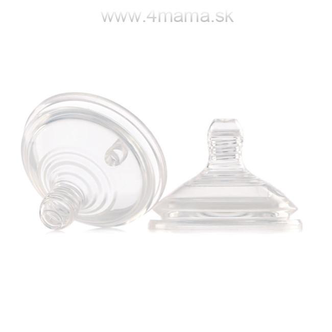 Cumlík na fľašu JANÉ (3 ks v balení) - silikónový 2e274c4a080