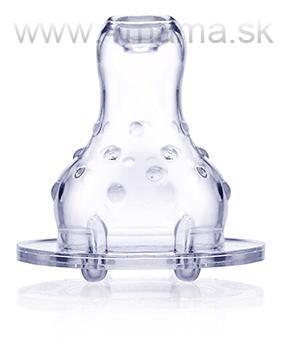 Cumlík na fľašu netečúci silikón 2ks - 4 mama   baby - NAJLACNEJŠIE ... 9c3b2a9daaa