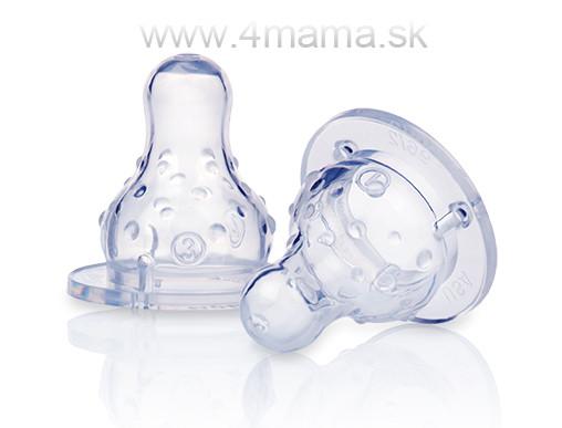 Cumlík na fľašu silikón 2ks - 4 mama   baby - NAJLACNEJŠIE KOČÍKY ... d62949b1c4b