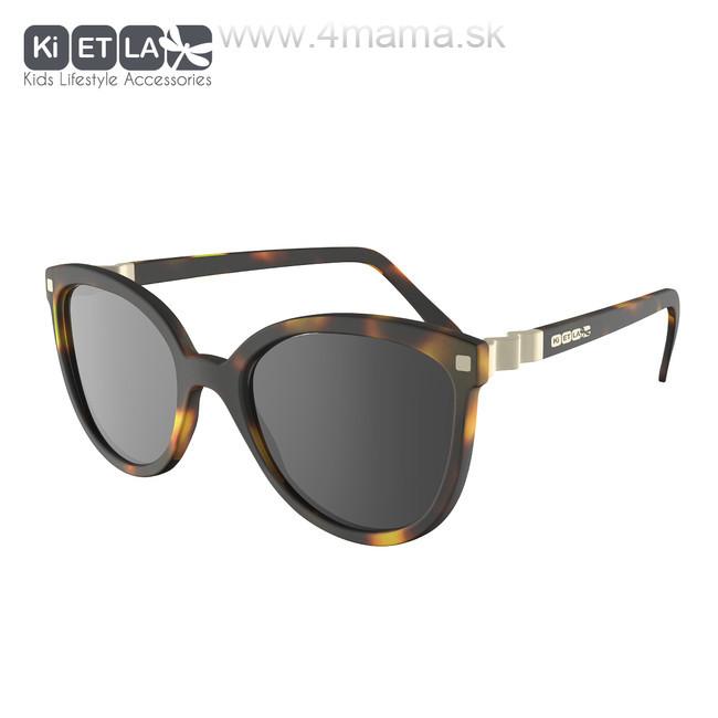 e19b99f6f KIETLA CraZyg-Zag slnečné okuliare 6-9 r. - mačacie hnedé - 4 mama ...