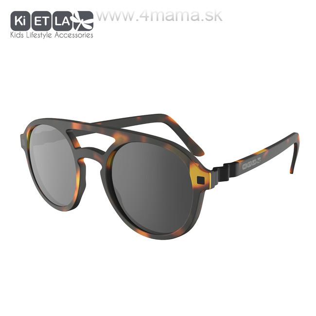 KIETLA CraZyg-Zag slnečné okuliare 9-12 r. - pilotky hnedé - 4 mama ... 03a1b9fc895