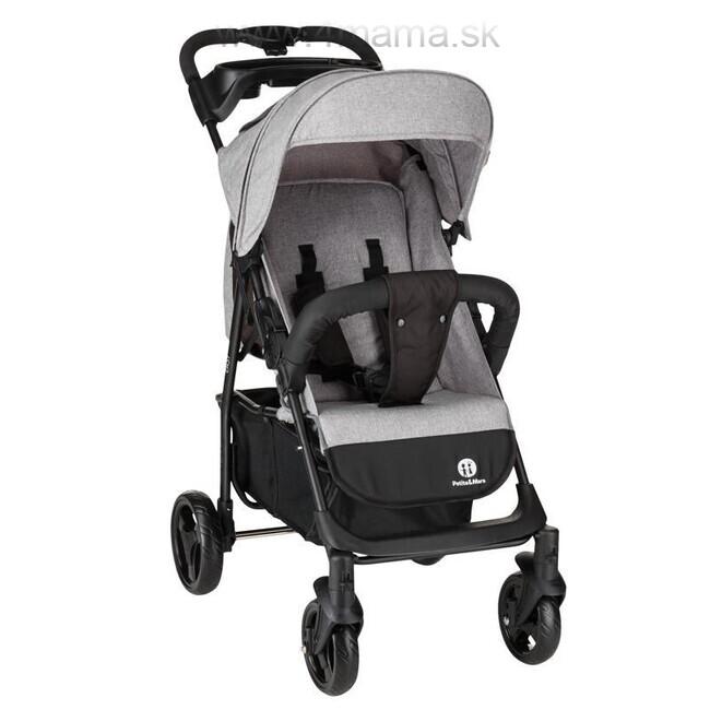 d303a3e87 Petite&Mars Kočík športový Easy, Shadow Grey - 4 mama & baby ...