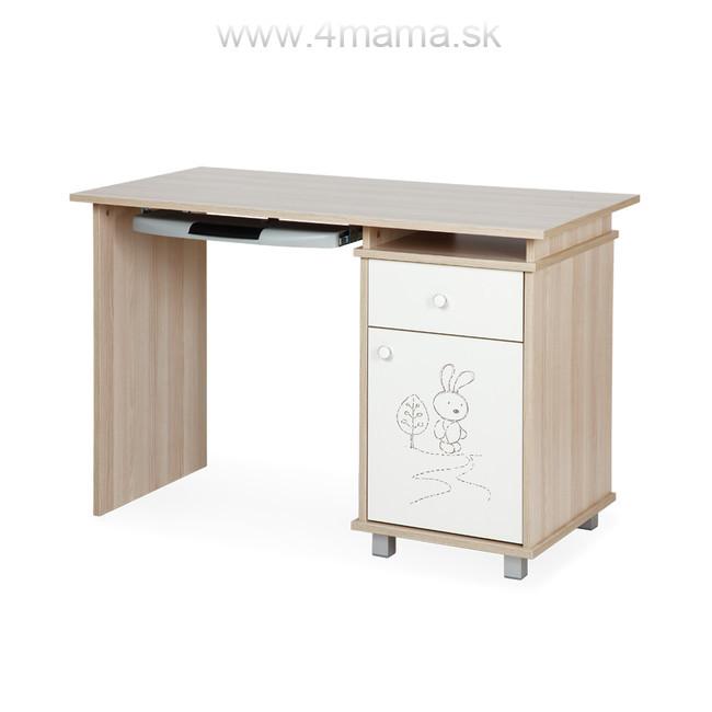 6f5ed8d75a524 Písací stôl KLUPS SAFARI - zajac - Tehotenské oblečenie, kočíky ...