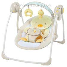 Hojdacie hudobné ležadlo Bright Starts 10241-3 Quack&Cuddles