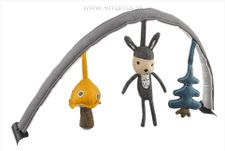 Hrazda s hračkami na lehátko Nuna LEAF