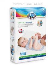 Jednorazové hygienické podložky CANPOL (10 ks)