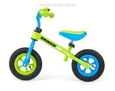 Odrážadlo Milly Mally DRAGON AIR zelený - nafukovacie kolesá - VÝPREDAJ !