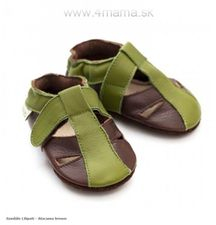 Sandále Liliputi ATACAMA BROWN
