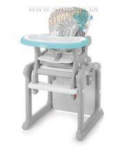 Stolička Baby Design CANDY 2v1 - AKCIA !