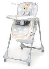 Jedálenská stolička Gmini MELISA cool grey + poštovné ZDARMA !