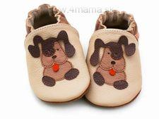 Topánky Liliputi hnedý psík