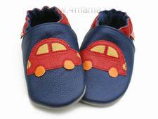 Topánky Liliputi modré auto