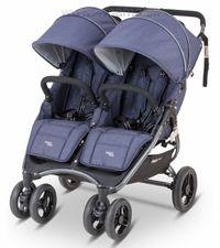 Valco Baby SNAP 4 DUO DENIM +nánožníky+pláštenka zdarma - AKCIA