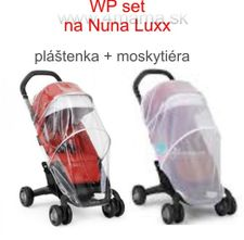 Weather Pack set (pláštenka+moskytiéra) Nuna Luxx Plus a Nuna Pepp