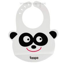 Zopa Silikónový bryndák, Panda