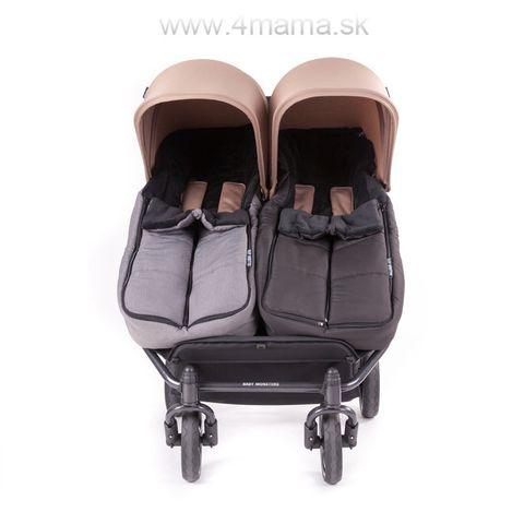 BABY MONSTERS Fusak Ice Twin pre dvojičky