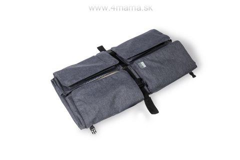 DOOMOO BASICS Baby Travel prebaľovacia a prenosná taška