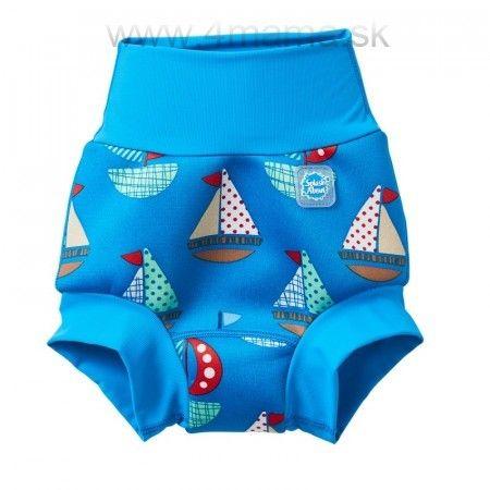 Detské plavky SPLASH ABOUT Happy Nappy - Loďky