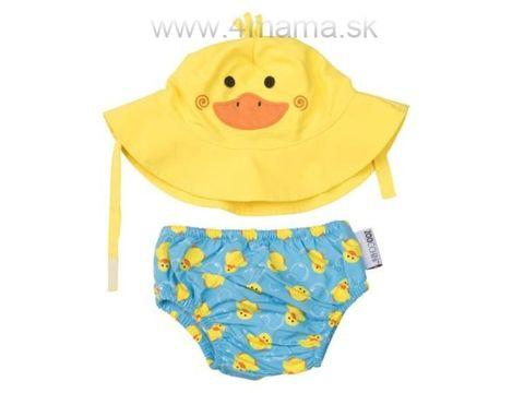 ZOOCCHINI Detské plavky Kačka - Sada klobúčik a plavky