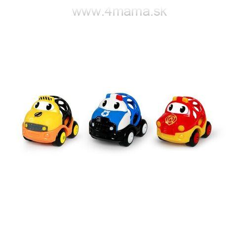 OBALL Hračka záchranné vozidlá Dan, Ben a Zac Go Grippers 18m+
