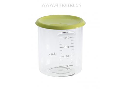 BEABA Kelímok na jedlo 240 ml, zelený