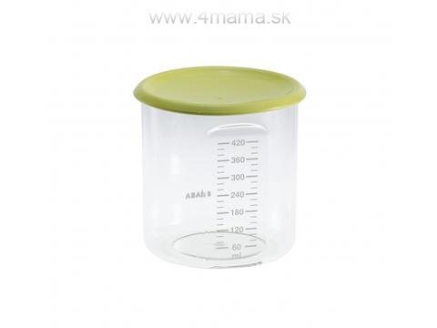 BEABA Kelímok na jedlo 420 ml, zelený