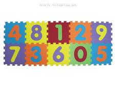 LUDI Puzzle penové 196x112 cm Čísla cf301225df8