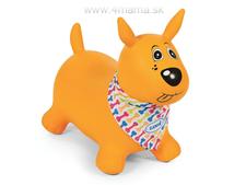LUDI Skákací pes žltý f43e86a5bc4