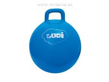 LUDI Skákacia lopta 45 cm modrá 657b06bc173