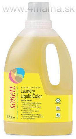 Tekutý prostriedok na pranie Sonett Color 1,5L