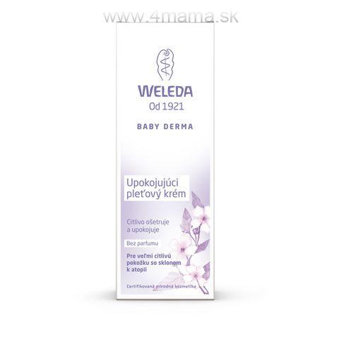 Upokojujúci pleťový krém WELEDA 50 ml