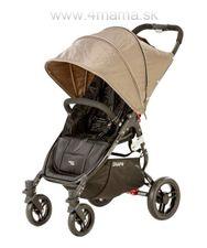 Valco Baby SNAP 4 BLACK s polohovaním nôh + pláštenka ZDARMA !